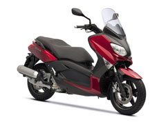 Xmax 2011 lava red