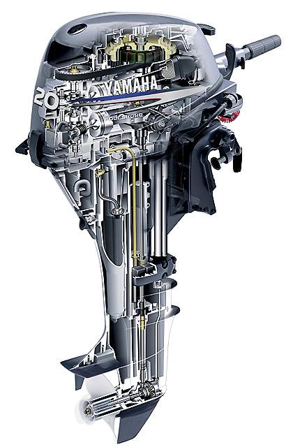 конструкция лодочный мотор mercury