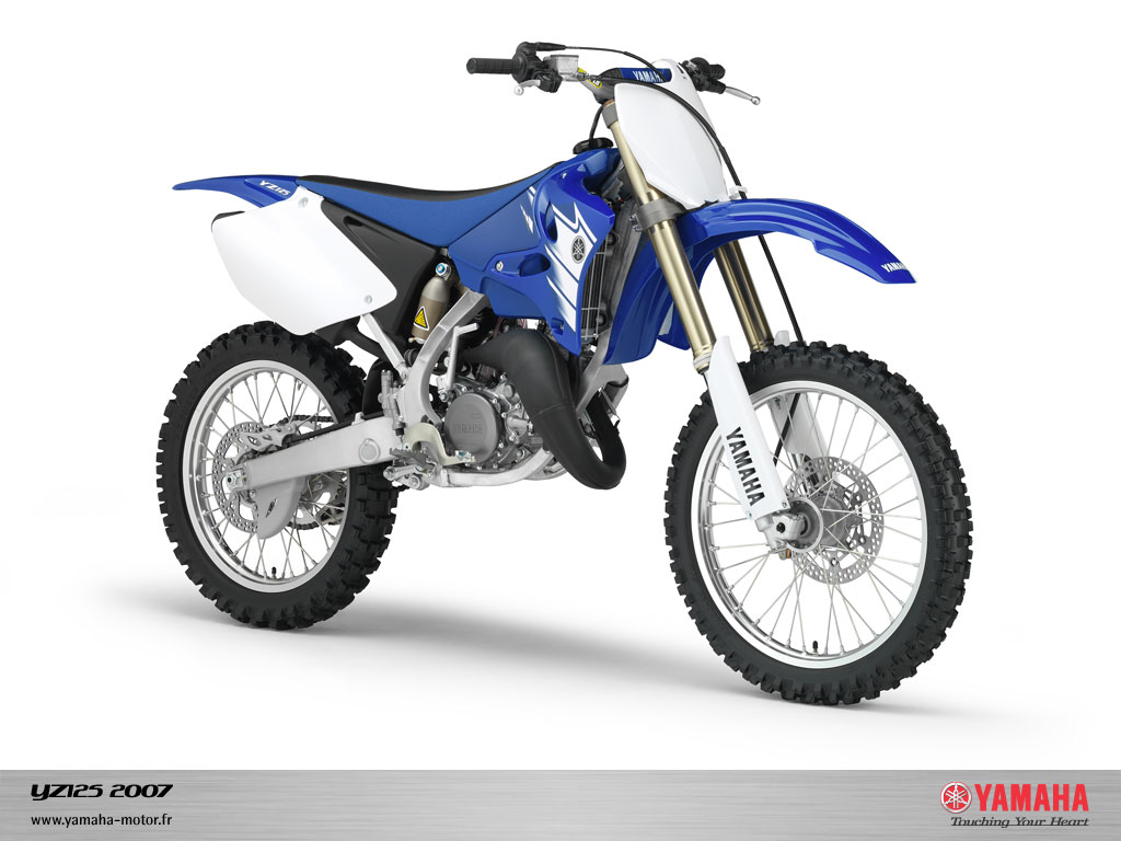 Yamaha yz 125 all motorcycles in the world for Yz yamaha 125