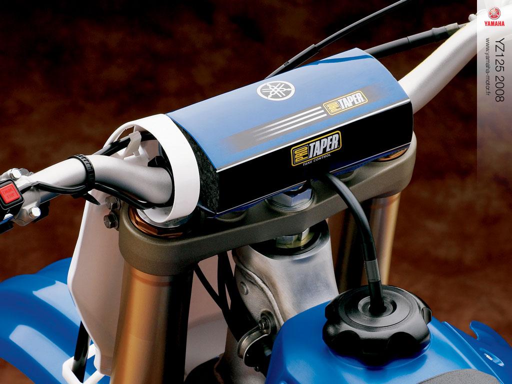 Nouveautés 2008 Yz250 Et 125 2008 La Technologie Deux Temps A