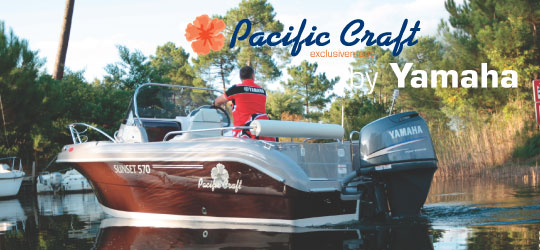 Pacific craft 570 d couvrez le nouveau pacific craft 570 for Pacific yamaha motorsports