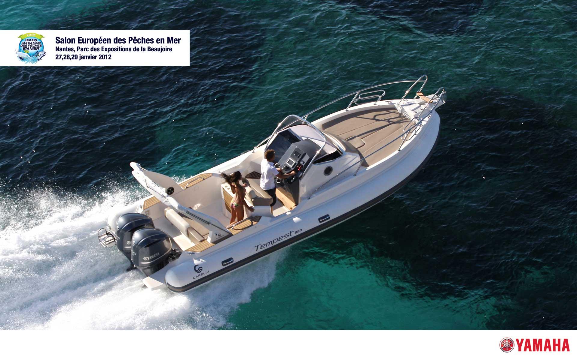 Salon nautique les gammes capelli tempest et pacific craft for Salon nautique nantes