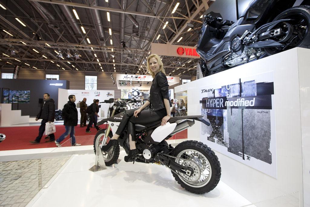Salon de la moto mercredi 4 d cembre la journ e des - Salon de la moto 2013 ...
