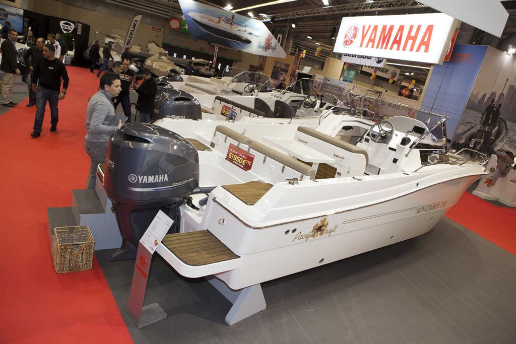 Salon nautique de paris 2013 yamaha au salon nautique de for Salon nautique amsterdam