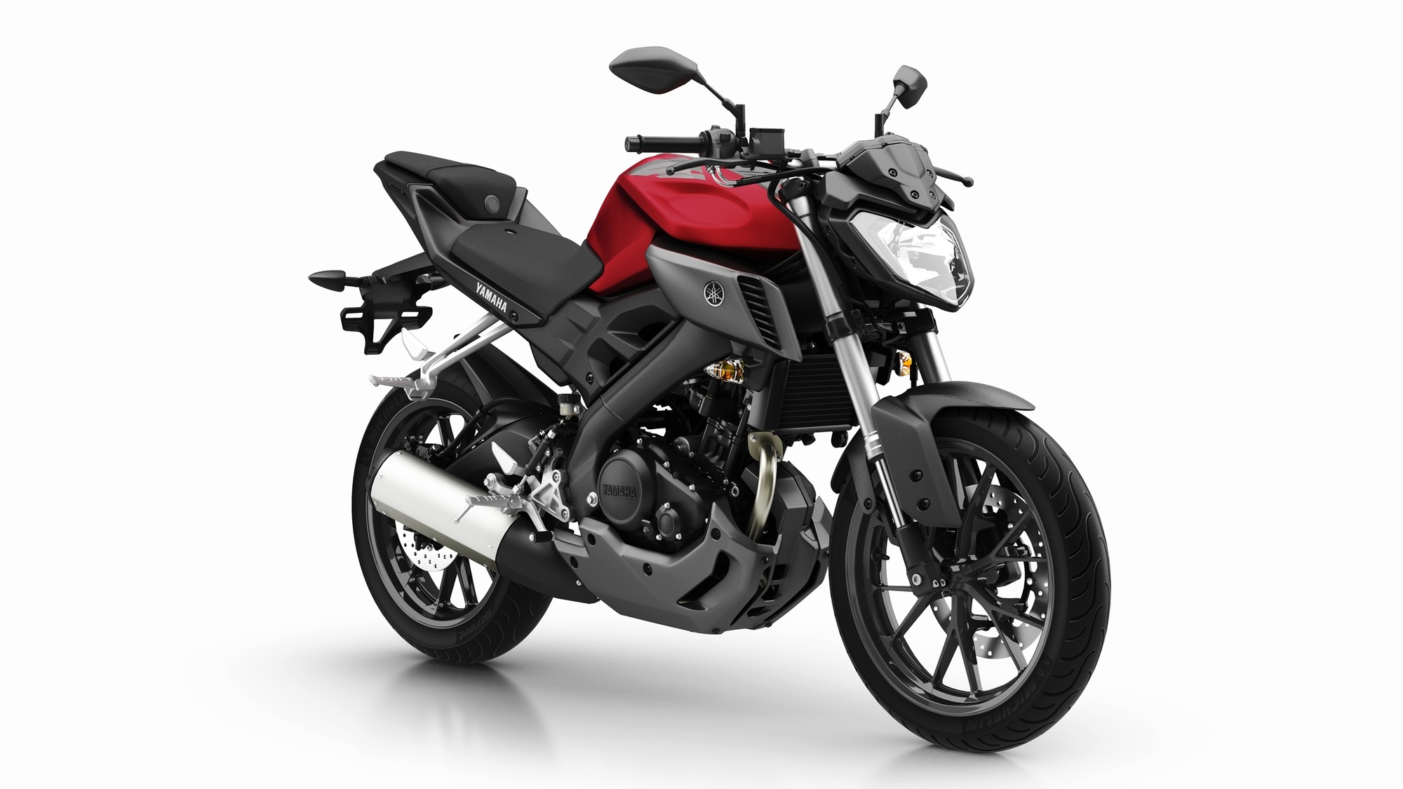nouveaut 2014 yamaha mt 125 l 39 exp rience dark side continue yamaha actu. Black Bedroom Furniture Sets. Home Design Ideas
