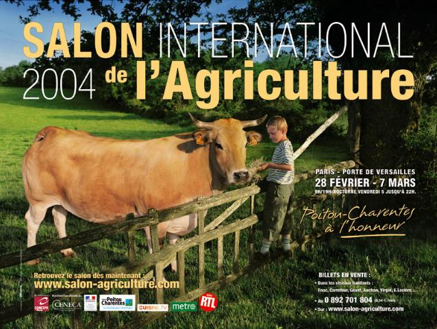 Salon yamaha au salon internationnal de l 39 agriculture 2004 for Nocturne salon agriculture
