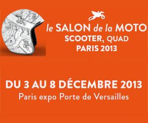 salon de la moto scooter quad 2013 3 8 d cembre 2013 paris expo porte de versailles. Black Bedroom Furniture Sets. Home Design Ideas