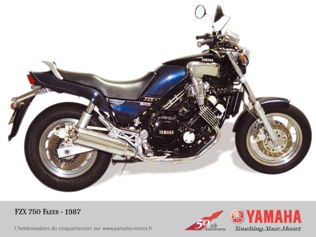 1987 yamaha fzx 750 fazer 3xf1 in navarro. Black Bedroom Furniture Sets. Home Design Ideas