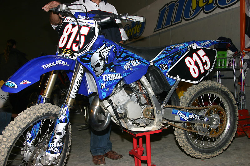 26e sx bercy popb 75 james stewart yz450f king of bercy 2008 39 yamaha actu. Black Bedroom Furniture Sets. Home Design Ideas