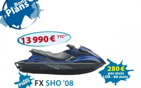 waverunners 2008 les bons plans du r seau yamaha sur les waverunners 2008 yamaha actu. Black Bedroom Furniture Sets. Home Design Ideas