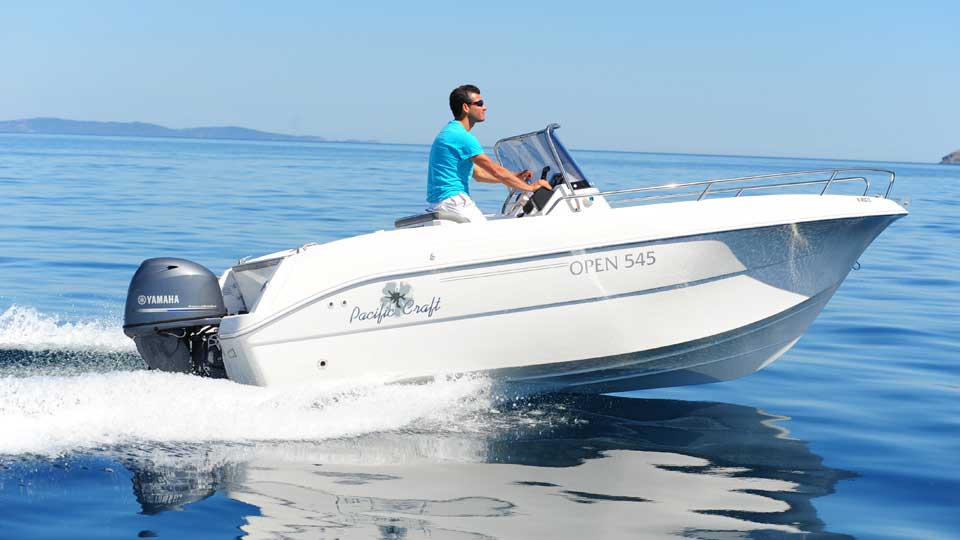 Pacific craft 545 open for Pacific yamaha motorsports