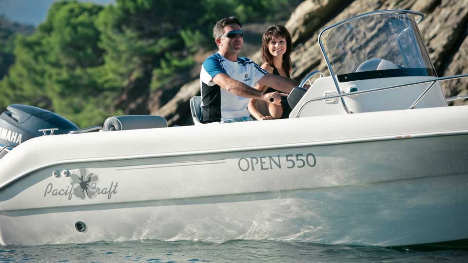 Pacific craft 550 open for Pacific yamaha motorsports