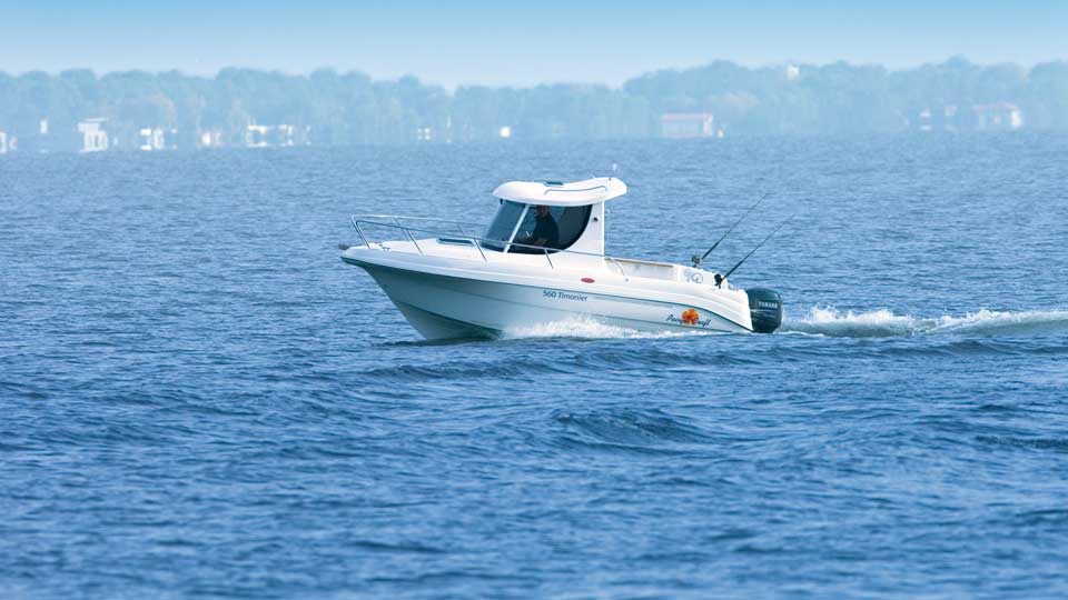 Pacific craft 560 timonier for Pacific yamaha motorsports