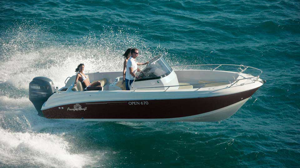 Pacific craft 670 open for Pacific yamaha motorsports